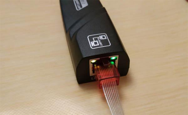 Индикатор подключения кабеля