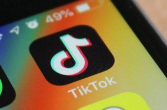 Значок приложения Тик Ток на экране смартфона