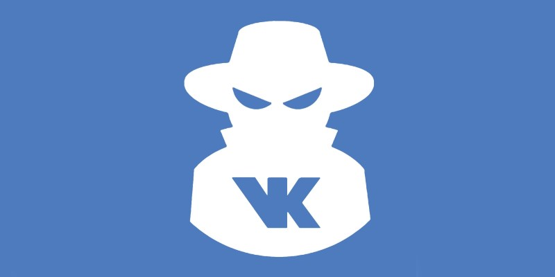 Лого мошенника VK