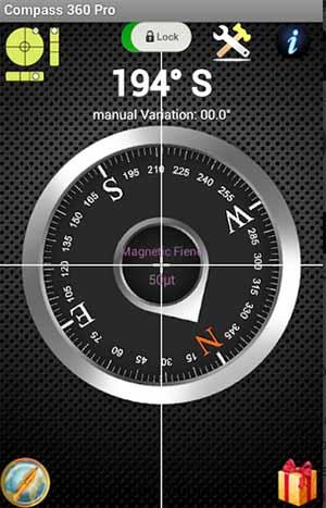 Мобильное приложение компас