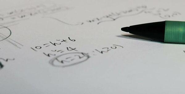 Уравнение на бумаге