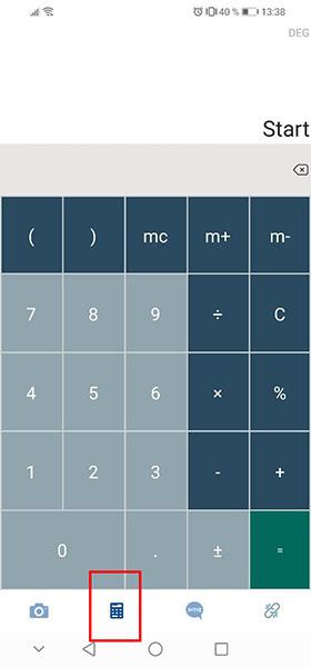Калькулятор на Android
