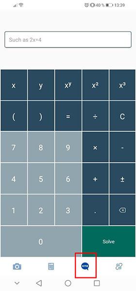 Калькулятор уравнений