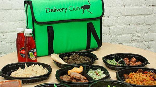 Еда из Delivery Club