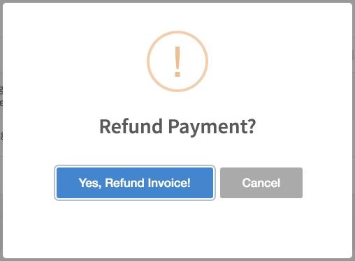 Запрос на возврат средств