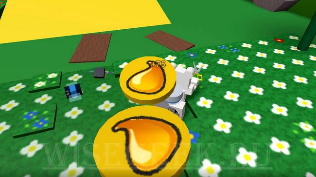 Символ меда на скриншоте из игры