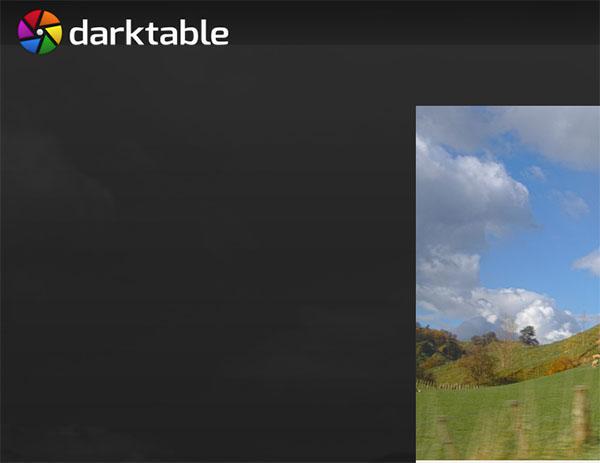Приложение Darktable
