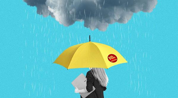Под зонтиком 1С