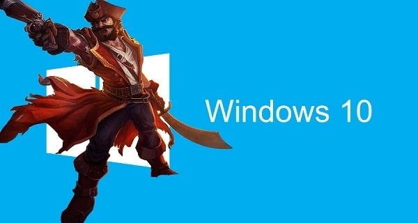 Windows 10 пиратская
