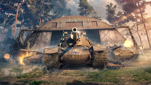 Танк с World Of Tanks