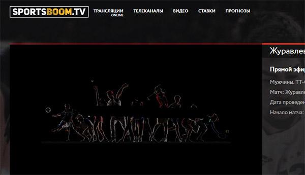 Сайт для просмотра трансляций
