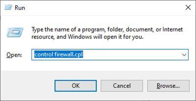 Быстрый переход в настройки Защитника Windows