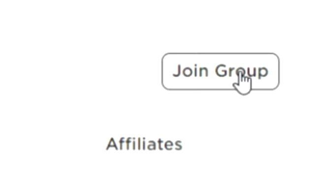 Скрин способа добавиться в сообщество на платформе