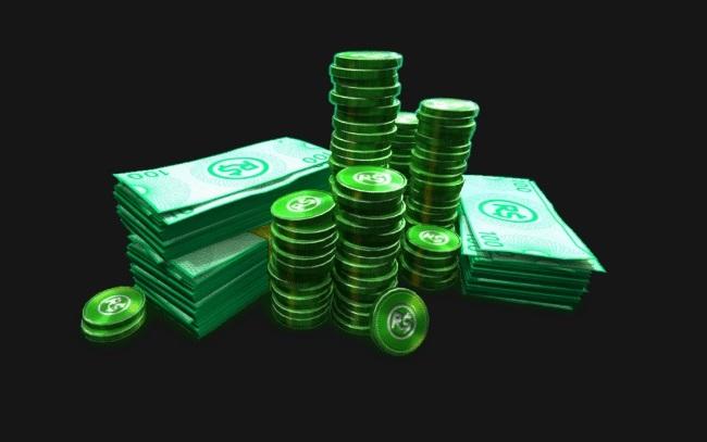 Груда зеленых фишек и бумажек