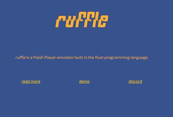 Ruffle Flash