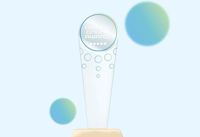 Наградная статуэтка Online Awards
