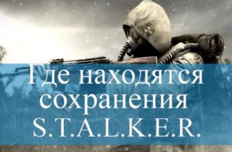 Stalker с оружием в руках
