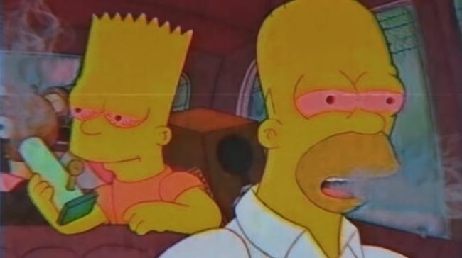 Симпсоны с красными глазами